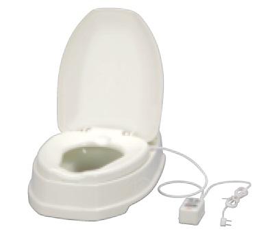 アロン化成 安寿 腰掛便座 簡易設置型洋式トイレ サニタリエース OD 暖房便座 両用式 ノーマルタイプ 介護商品 533-316 アイボリー