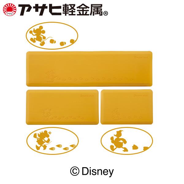 「ドクターマット(L)(S)(spot)セット《Disney》柄:ミッキーマウス・ミニーマウス・ドナルドダック」ディズニー 厚手 抗菌 撥水 ギフト [アサヒ軽金属公式ショップ]