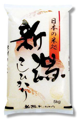 【既製米袋】流稲(りゅうとう) 新潟こしひかり5kg用×500枚