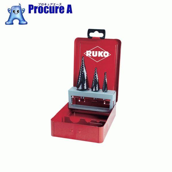 RUKO 2枚刃スパイラルステップドリル 28mm チタンアルミニウム 101058F ▼765-9873 RUKO社