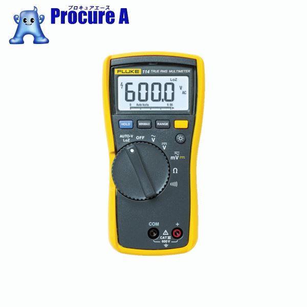 FLUKE 電気設備用マルチメーター 114 ▼765-7269 (株)TFF フルーク社