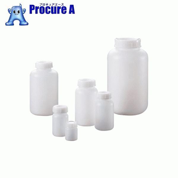 サンプラ PE広口瓶 500mL  (100本入) 2085 ▼816-2599 (株)サンプラテック