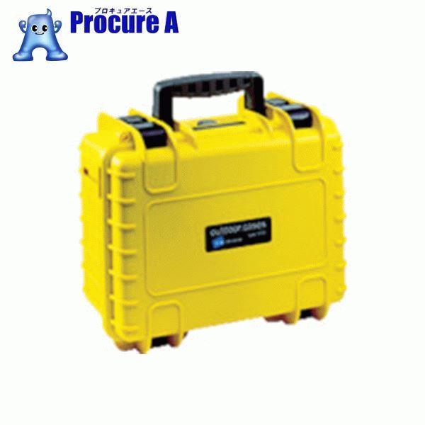 B&W プロテクタケース 3000 黄 フォーム 3000/Y/SI ▼859-6129 B&W社