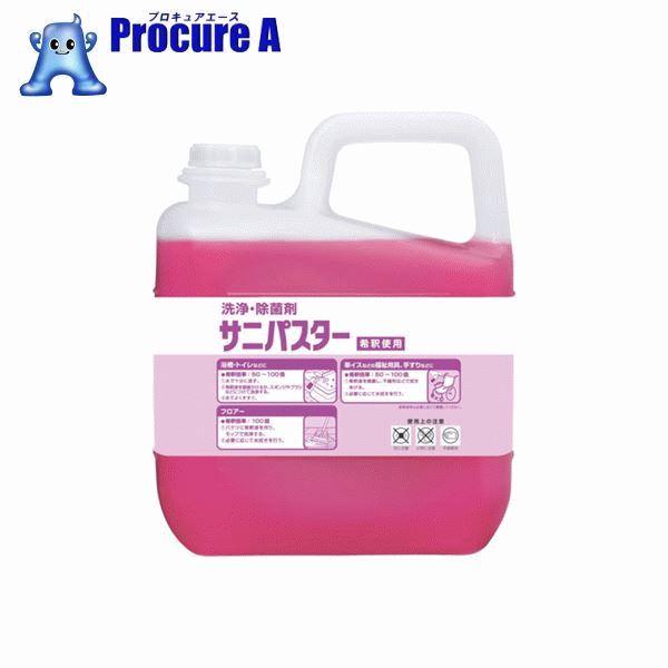 サラヤ 洗浄・除菌剤 サニパスター 5Kg 31886 ▼494-5336 サラヤ(株)
