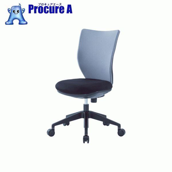 アイリスチトセ 回転椅子3DA グレー 肘なし 3DA-45M0-GR ▼474-3881 アイリスチトセ(株)