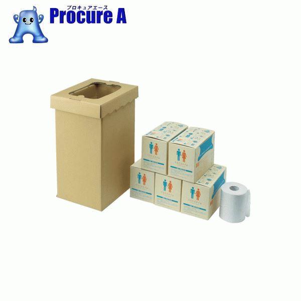 sanwa 非常用トイレ袋 くるくるトイレ100回分 400-785 ▼819-4127 (株)三和製作所