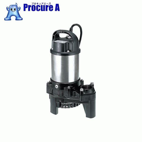 ツルミ 樹脂製汚水用水中うず巻ポンプ 50HZ  50Hz 40PSF2.4S ▼223-2383 (株)鶴見製作所