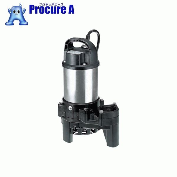 ツルミ 樹脂製雑排水用水中ハイスピンポンプ 60HZ 口径40mm 単相100V 60Hz 40PN2.25S ▼223-2430 (株)鶴見製作所