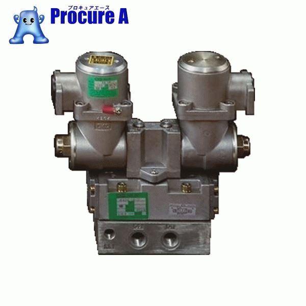 CKD パイロット式 防爆形5ポート弁 4Fシリーズ(ダブルソレノイド) 4F520E-15-TP-AC100V ▼376-8040 CKD(株)