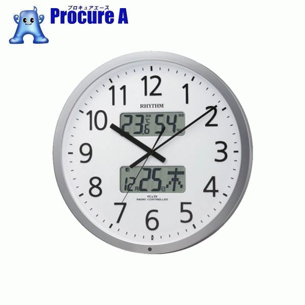 RHYTHM プログラムオフィス403 4FN403SR19 ▼787-9571 リズム時計工業(株)