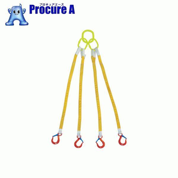 大洋 4本吊 インカリフティングスリング 3.2t用×1.5m 4ILS 3.2TX1.5 ▼473-0372 大洋製器工業(株)