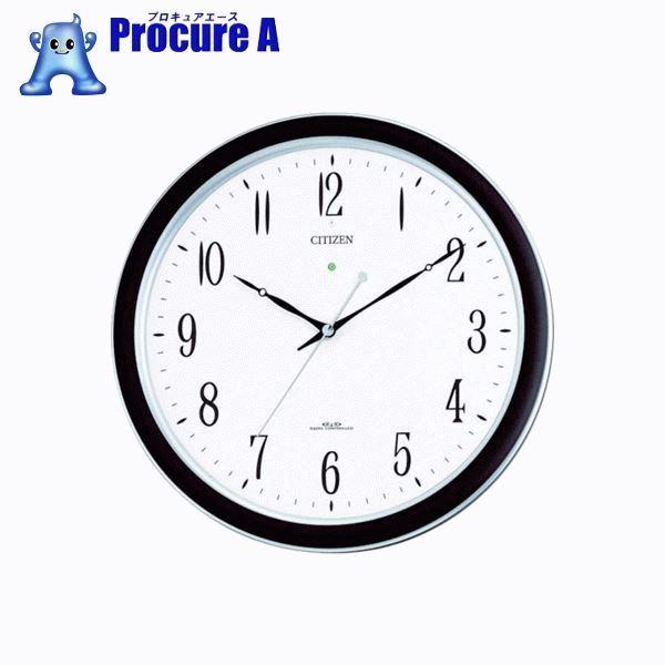 シチズン ネムリーナM691F(電波掛時計)プラスチック枠シルバーメタリック 4MY691-N19 ▼485-3253 リズム時計工業(株)