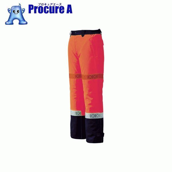 ジーベック 800 高視認防水防寒パンツ 3L オレンジ 800-82-3L ▼799-6284 (株)ジーベック