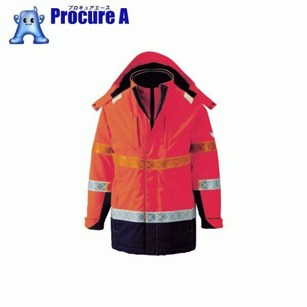 ジーベック 801 高視認防水防寒コート 3L オレンジ 801-82-3L ▼799-6365 (株)ジーベック