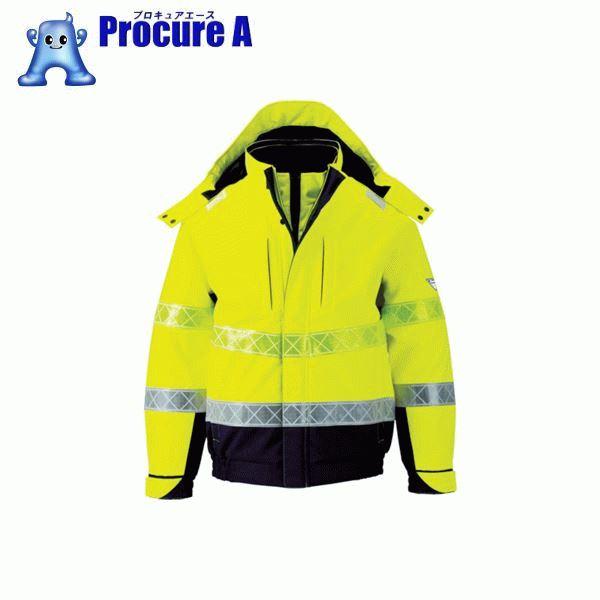 ジーベック 802 高視認防水防寒ブルゾン 3L イエロー 802-80-3L ▼799-6403 (株)ジーベック