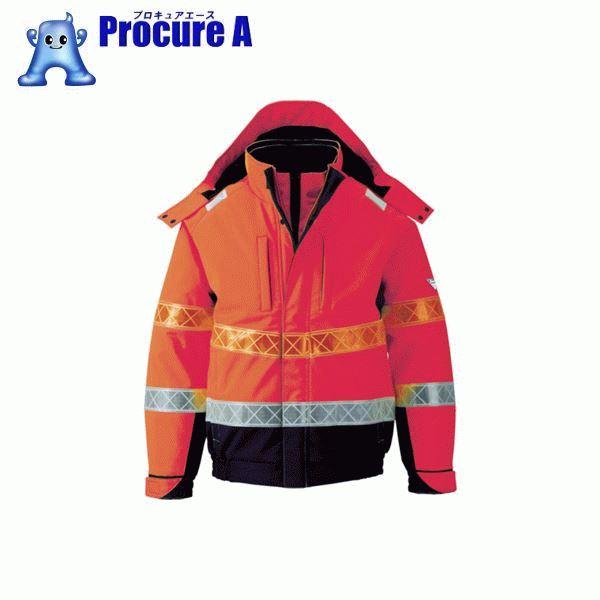 ジーベック 802 高視認防水防寒ブルゾン L オレンジ 802-82-L ▼799-6454 (株)ジーベック