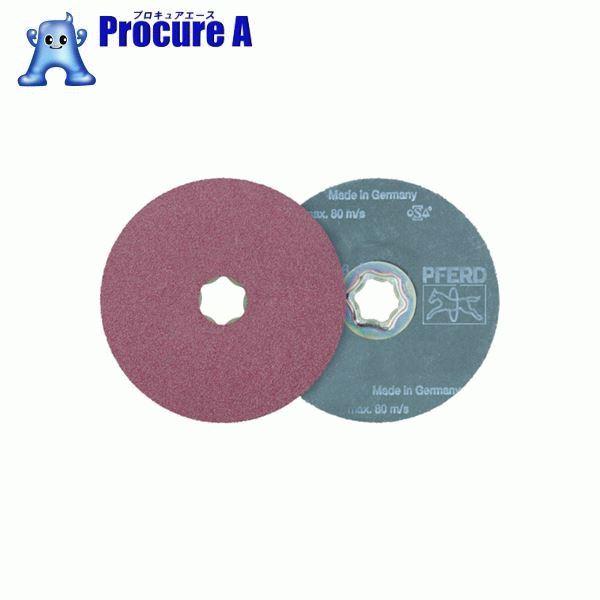 PFERD ディスクペーパー コンビクリック酸化アルミナタイプ 836125 25枚▼765-3221 PFERD社