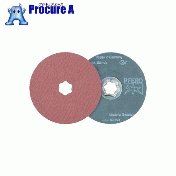 PFERD ディスクペーパー コンビクリック酸化アルミナ COOLタイプ 836149 25枚▼765-3247 PFERD社