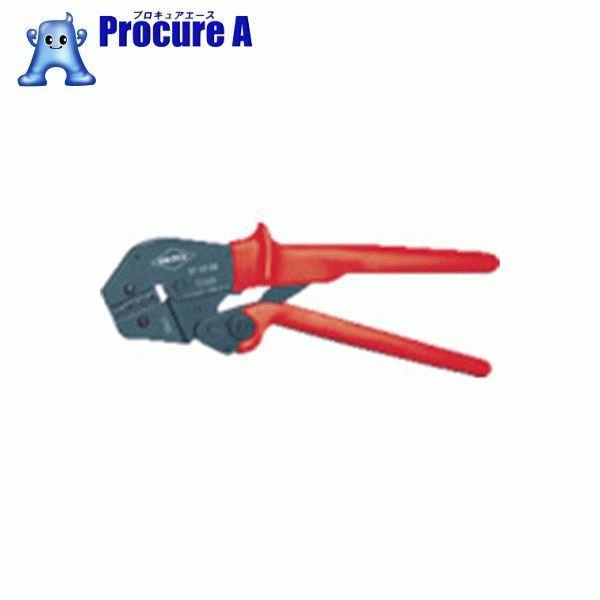 KNIPEX 9752-04 圧着ペンチ 250mm 9752-04 ▼478-7463 KNIPEX社 クニペックス