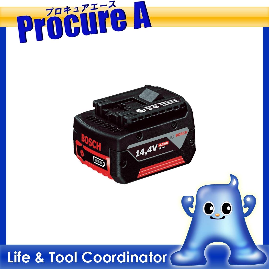 ボッシュ バッテリー スライド式 14.4Vリチウムイオン A1440LIB ▼496-3156 ボッシュ(株) BOSCH