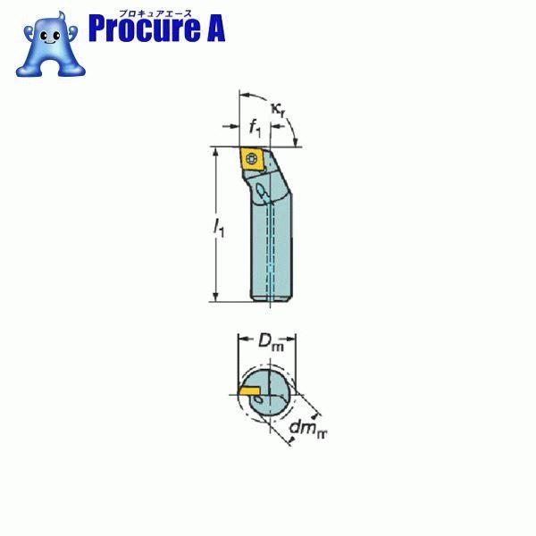 サンドビック コロターン111 ポジチップ用ボーリングバイト A08K-SCLPR 06-R ▼601-3597 サンドビック(株)コロマントカンパニー