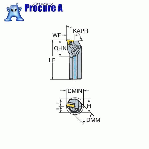 サンドビック コロターンRC ネガチップ用ボーリングバイト A40T-DTFNR 16 ▼359-3045 サンドビック(株)コロマントカンパニー