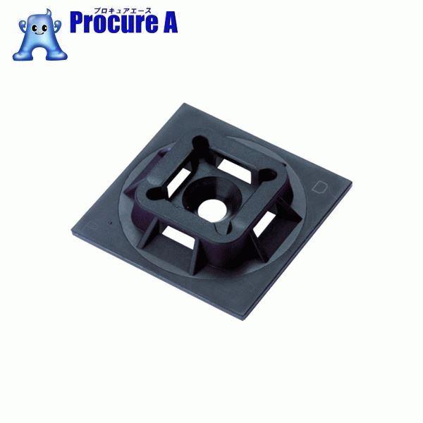 パンドウイット マウントベース アクリル系粘着テープ付き 耐候性黒 1000個入 ABM1M-AT-M0 ▼403-6620 パンドウイットコーポレーション