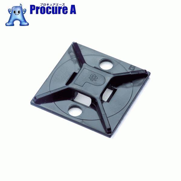 パンドウイット マウントベース アクリル系粘着テープ付き 耐候性黒(500個入) ABM2S-AT-D0 ▼403-6701 パンドウイットコーポレーション