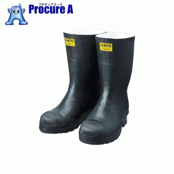 SHIBATA 安全長靴 安全防寒フェルト長N5ロール底 25.0 AC030-25.0 ▼821-9042 シバタ工業(株)
