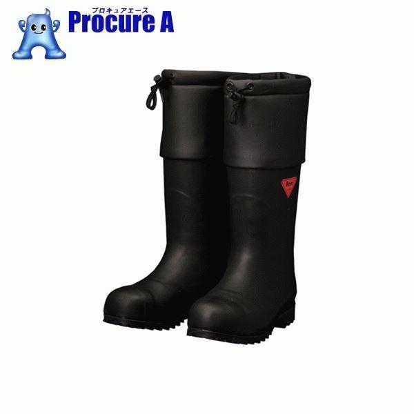 SHIBATA 防寒安全長靴 セーフティベアー#1001白熊(ブラック) AC111-24.0 ▼856-9210 シバタ工業(株)