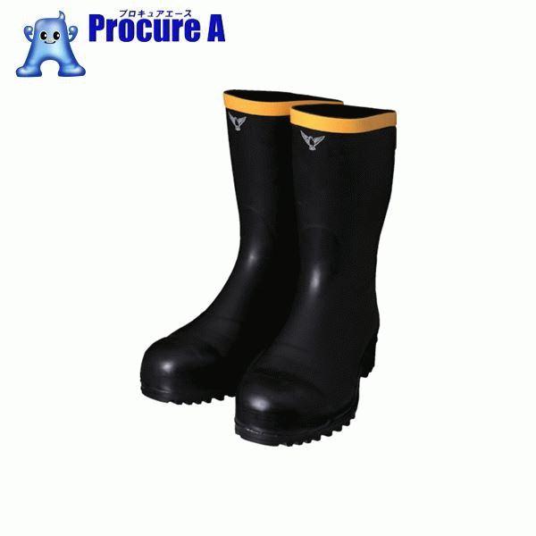 SHIBATA 安全静電長靴(先芯入り) AE011-25.0 ▼836-5819 シバタ工業(株)