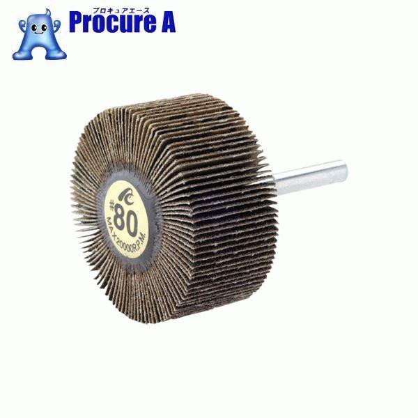 AC フラップホイル 軸径3mm #180 外径30×幅10×軸長35 5個 AF30103-180 ▼306-3585 (株)イチグチ