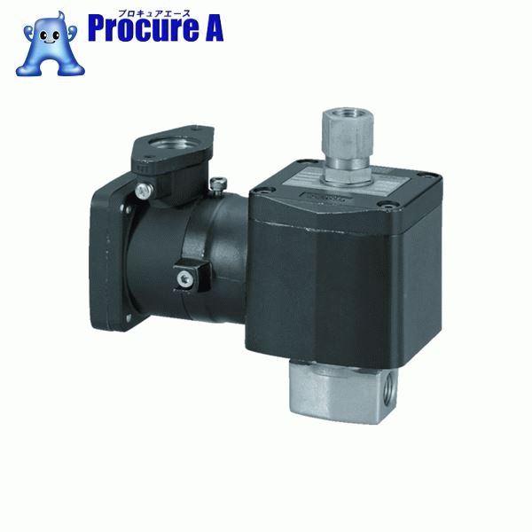 CKD 直動式 防爆形3ポート弁 ABシリーズ(空気・水用) AG41E4-02-2-03T-AC100V ▼376-8325 CKD(株)
