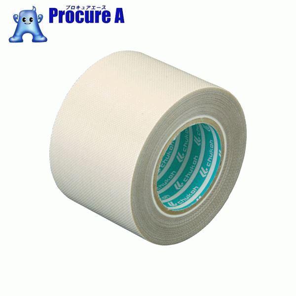 チューコーフロー 性能向上ふっ素樹脂粘着テープ ガラスクロス 0.24-50×1 AGF101-24X50 ▼391-4194 中興化成工業(株)
