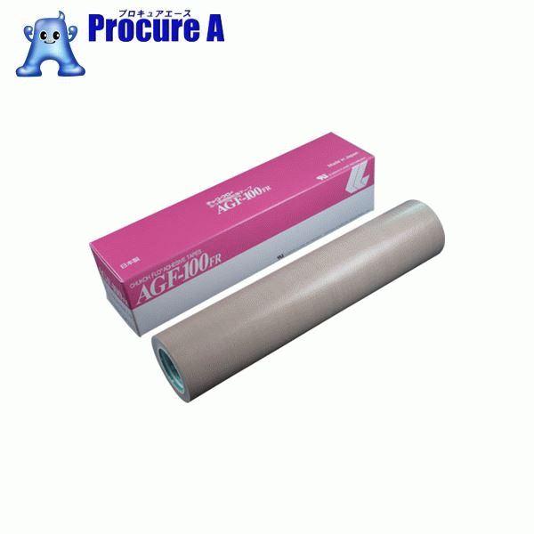 チューコーフロー フッ素樹脂(テフロンPTFE製)粘着テープ AGF100FR 0.15t×300w×10m AGF100FR-15X300 ▼449-4211 中興化成工業(株)