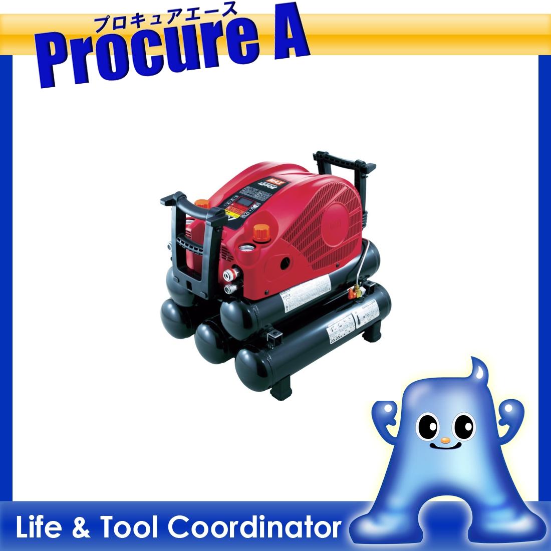 MAX 45気圧スーパーエアコンプレッサ 高圧・常圧兼用 AK-HL1270E-27L ▼779-7702 マックス(株)