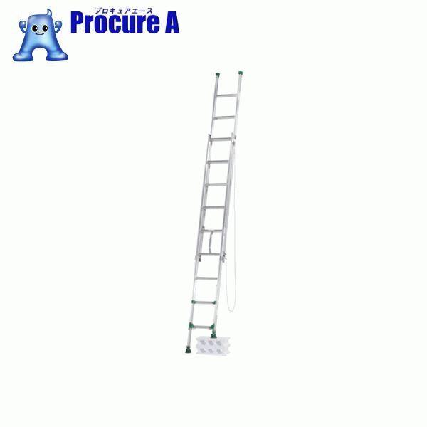 アルインコ 脚伸縮式二連はしご 3.4m 最大使用質量 100kg ANE34F ▼452-6538 アルインコ(株)住宅機器事業部 【代引決済不可】