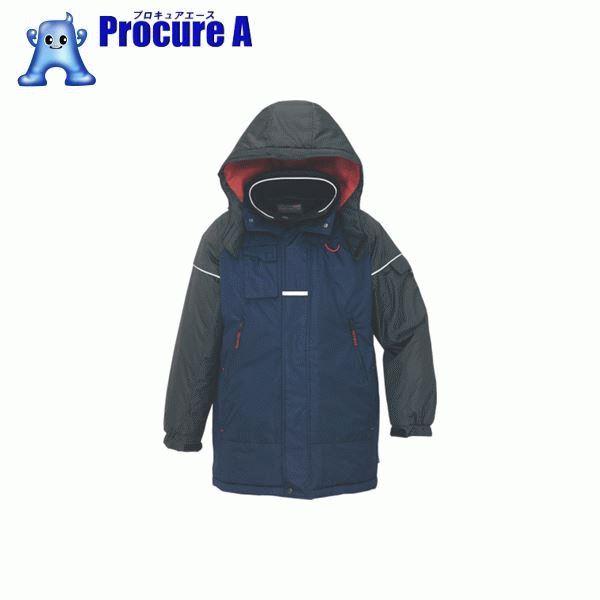 アイトス 防寒コート ネイビーL AZ-6060-008-L ▼395-1235 アイトス(株)