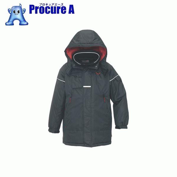 アイトス 防寒コート ブラックL AZ-6060-010-L ▼395-1294 アイトス(株)