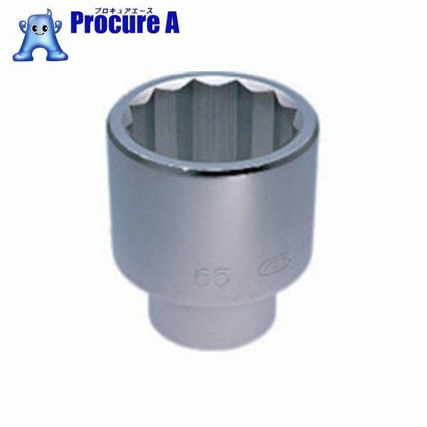 KTC 25.4sq.ソケット(十二角)67mm B50-67 ▼344-8096 京都機械工具(株)