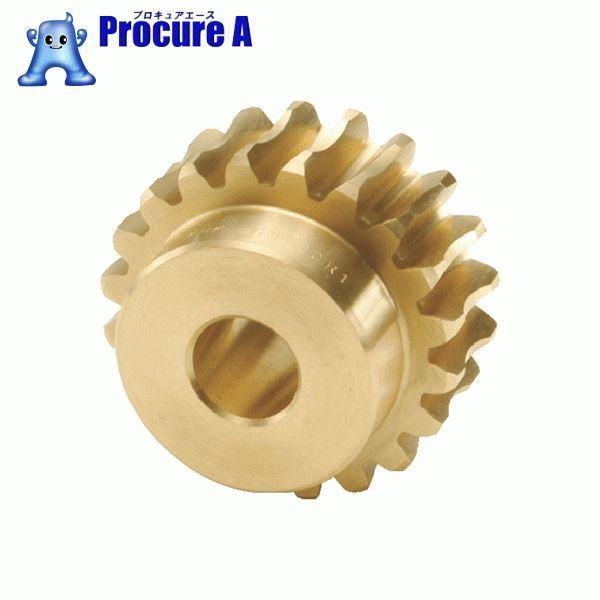 KHK ウォームホイルBG2.5-20R1 BG2.5-20R1 ▼856-6457 小原歯車工業(株)