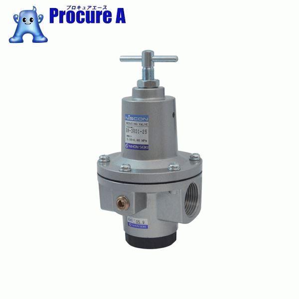 日本精器 レギュレータ 25A 中圧用 BN-3R01H1-25 ▼484-0861 日本精器(株)