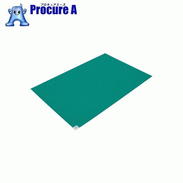 ブラストン 粘着マット 緑 (10枚入) BSC-84001-G 10枚▼303-4992 (株)ブラストン