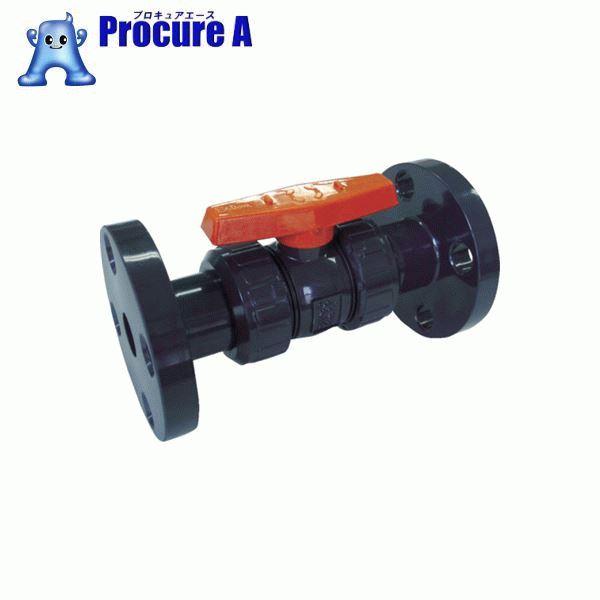 エスロン ボールバルブ F式 本体PVC OリングEPDM 50 BV50FX ▼355-6654 積水化学工業(株)