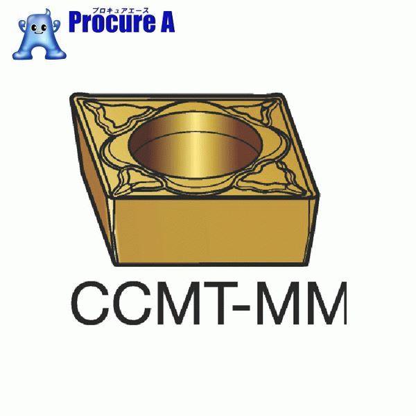 サンドビック コロターン107 旋削用ポジ・チップ 2025 COAT CCMT 09 T3 08-MM 2025 10個▼172-1071 サンドビック(株)コロマントカンパニー