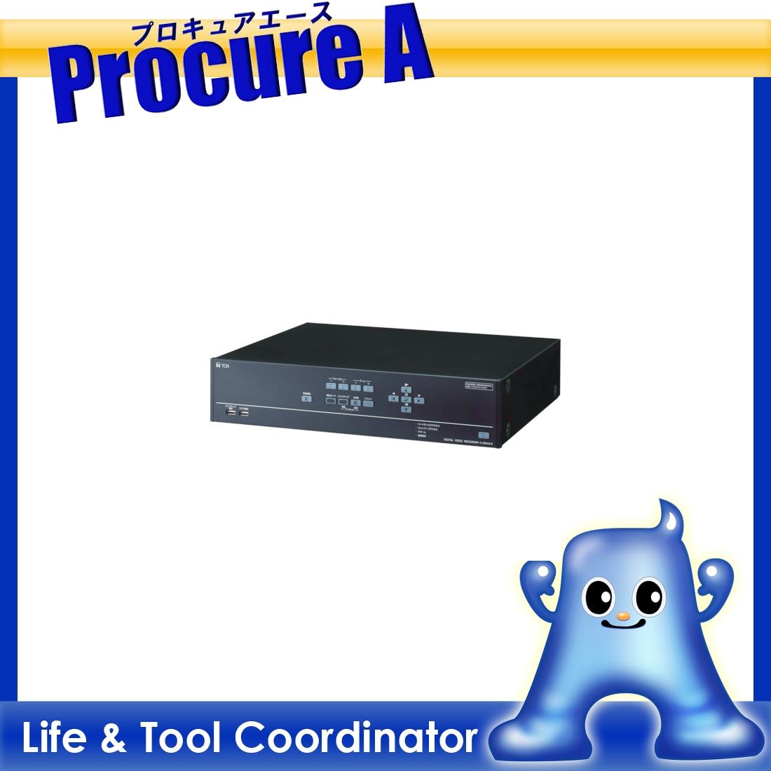 TOA デジタルレコーダー 4局 500GB C-DR044-5 ▼453-7645 TOA(株) 【代引決済不可】