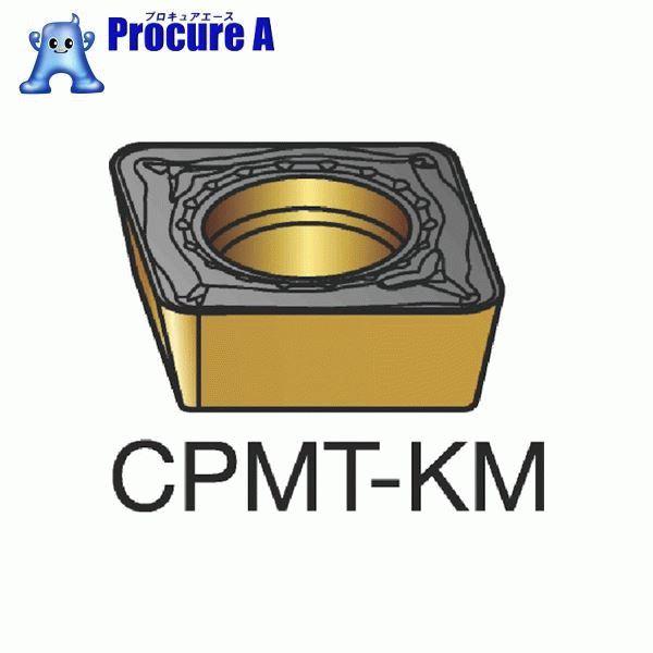 サンドビック コロターン111 旋削用ポジ・チップ H13A 超硬 CPMT 06 02 04-KM H13A 10個▼604-3585 サンドビック(株)コロマントカンパニー