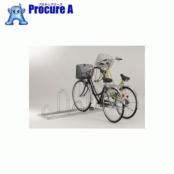 ダイケン 平置き自転車ラック前輪差込式サイクルスタンド 4台収容ピッチ600 CS-ML4 ▼461-8980 (株)ダイケン 【代引決済不可】