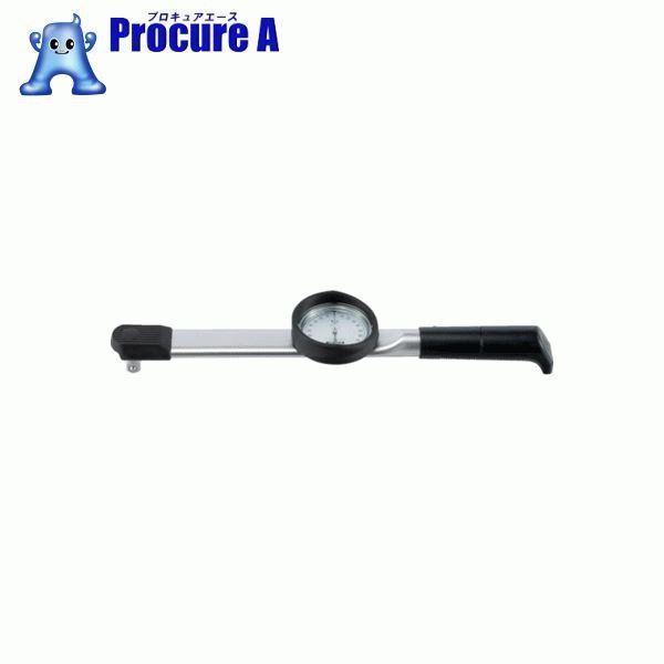 トーニチ ダイヤル型手動式トルクレンチ 置針付 DB25N-1/4-S ▼432-7250 (株)東日製作所