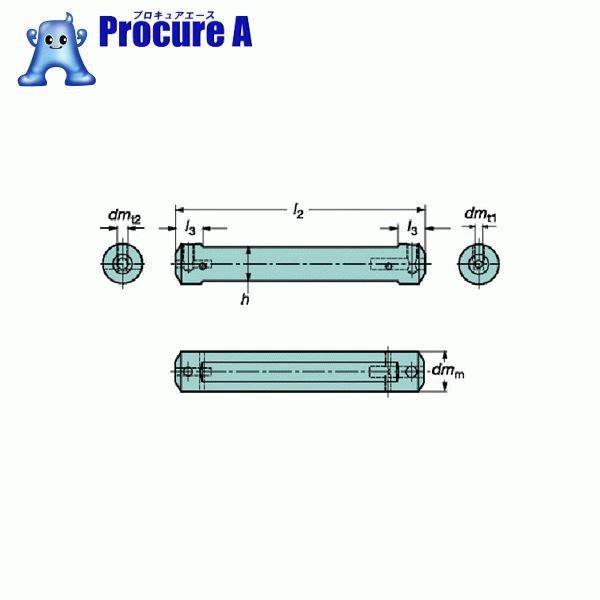 サンドビック コロターンXS 小型旋盤アダプタ CXS-A12-06 ▼609-6328 サンドビック(株)コロマントカンパニー